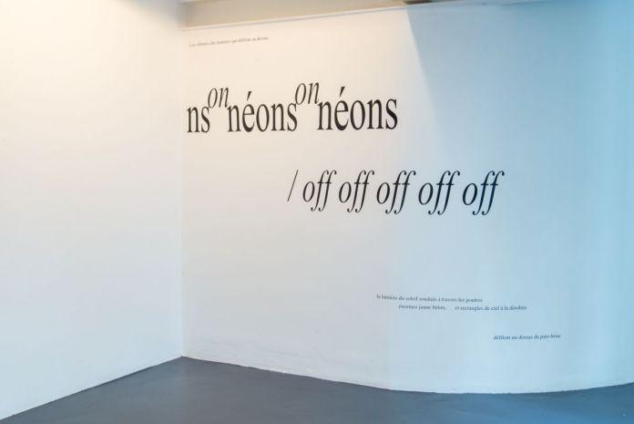 Flore Saunois - On-Off, 2020 - « Liminal » - art-cade - PAC 2020, Marseille - Photo Aurelien Meimaris