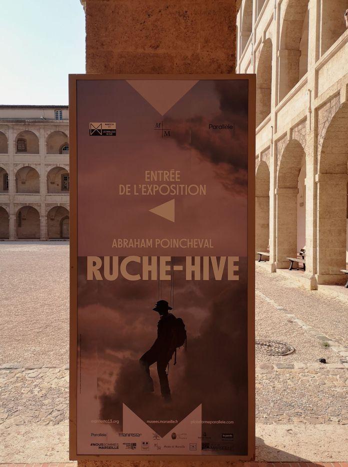 Abraham Poincheval - «Ruche - Hive» à la Vieille Charité - Marseille