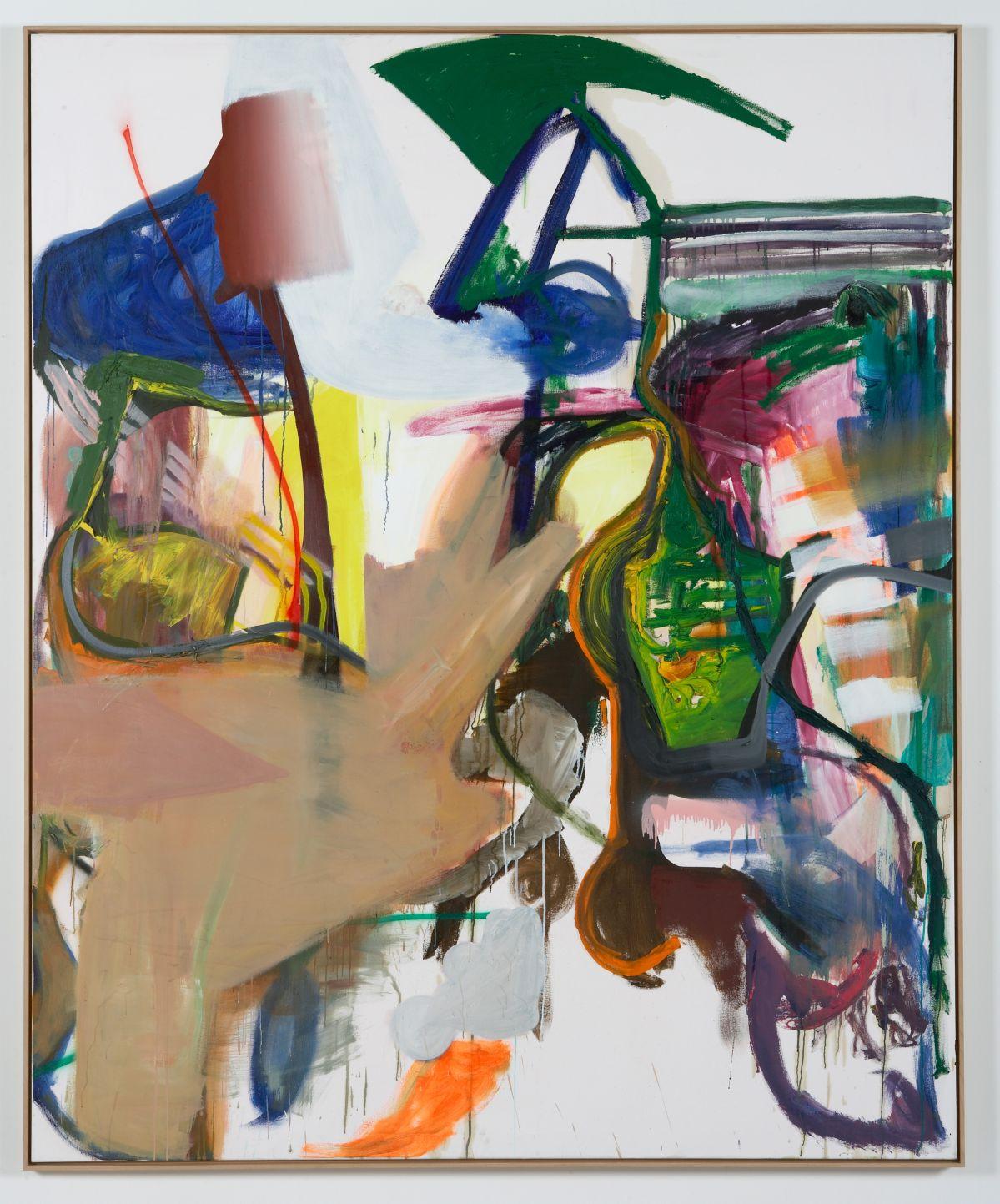 Albert Oehlen - 3 Amigos I, 2000-2006 - 00s. Collection Cranford - les années 2000 au MO.CO. Montpellier Huile sur toile. 280 x 230 cm. © Adagp, Paris, 2020