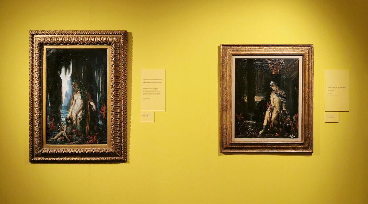 Gustave Moreau - Paul Valéry et les peintres - Autres regards de Valéry sur les peintres depuis sa jeunesse - Musée Paul Valéry à Sète