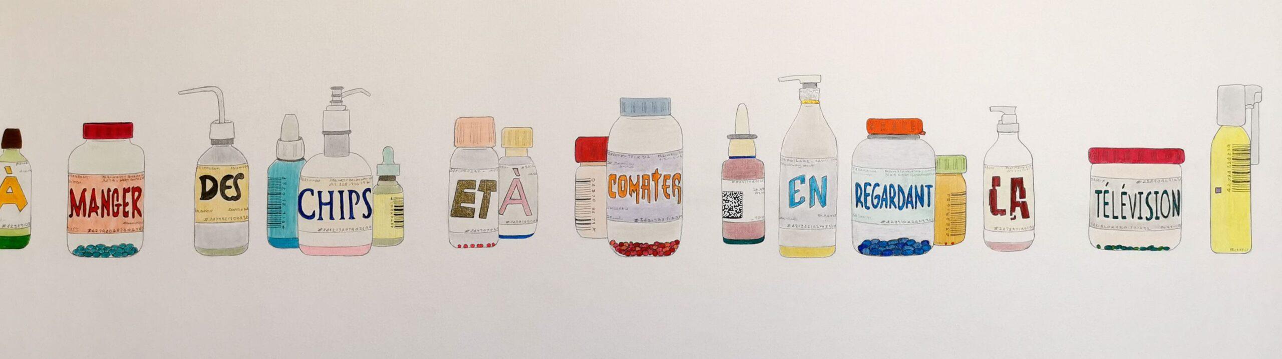 Jeanne Susplugas - Containers, 2020 - Pharmacopées au Musée Fabre