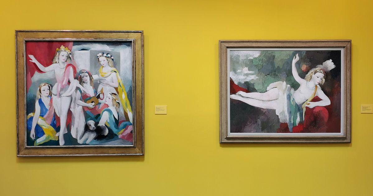 Marie Laurencin - Paul Valéry et les peintres - Le cercle amical proche - Musée Paul Valéry à Sète