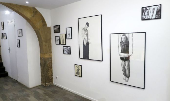 Marie Havel - «Drawing Draw #4» à la N5 galerie – Montpellier