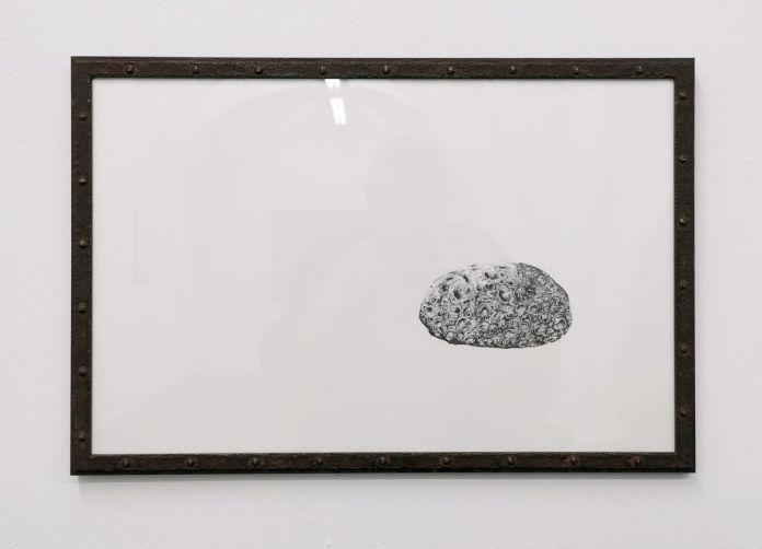 Nicolas Aguirre - Pierre, 2020 - Mind the gap à la galerie chantiersBoîteNoire