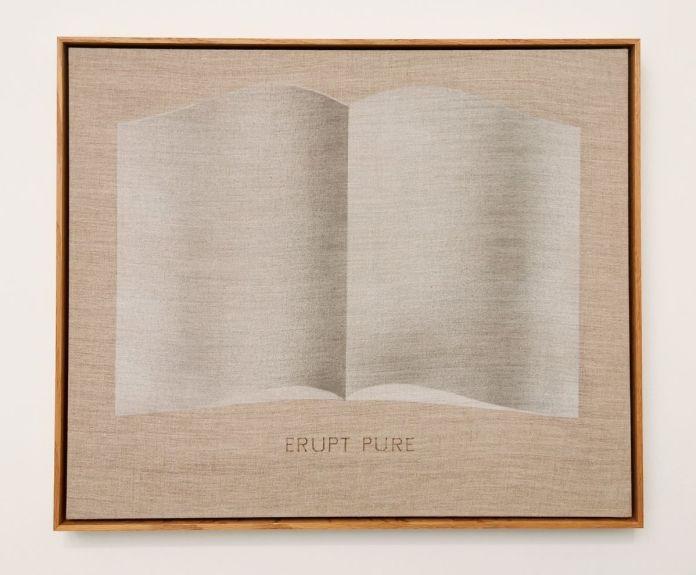 Edward Ruscha - Erupt Pure, Open Book, 2002 - 00s - Collection Cranford - les années 2000 au MOCO Montpellier