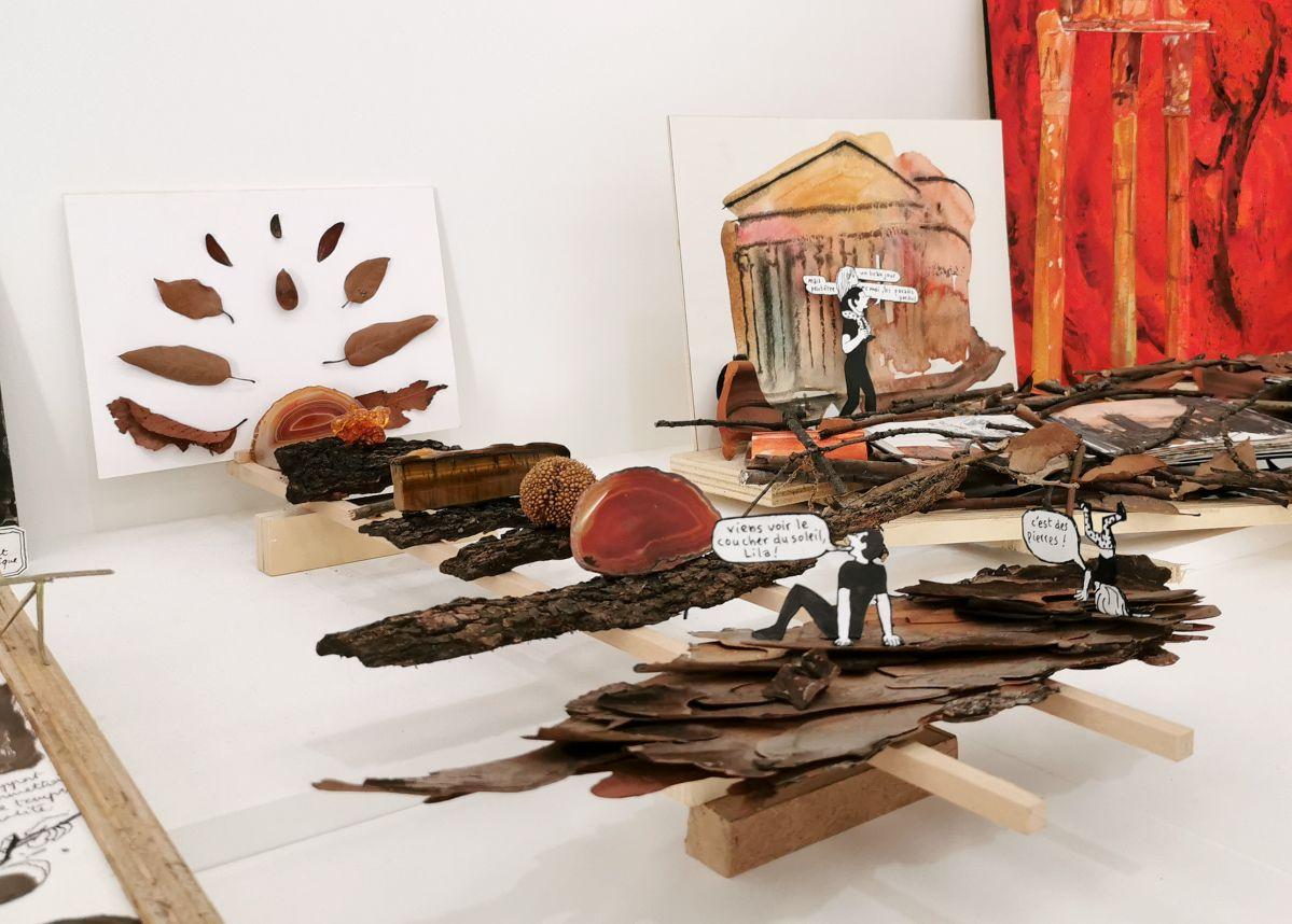 François Olislaeger - Studiolila, 2019-2020 - Des Vies - ¡ Viva Villa ! 2020 - Les vies minuscules à la Collection Lambert, Avignon