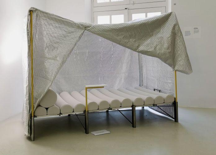 Frédérique Barchelard & Flavien Menu - Furnitures for Nomadic Millennials - Letto, 2020- ¡ Viva Villa ! 2020