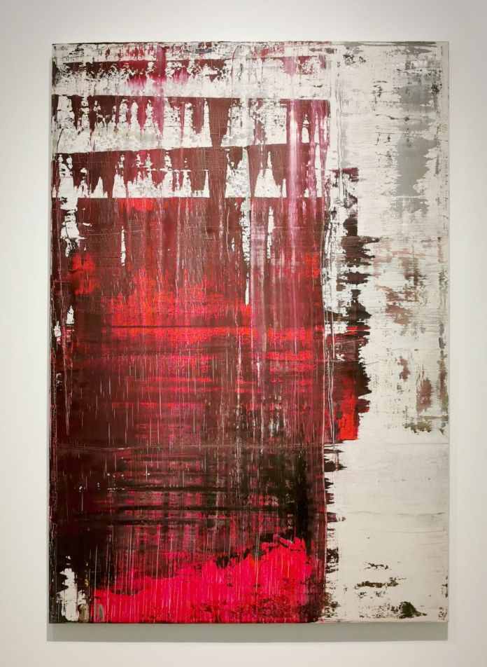 Gerhard Richter - Abstract Painting, 2000 - 00s - Collection Cranford - les années 2000 au MOCO Montpellier