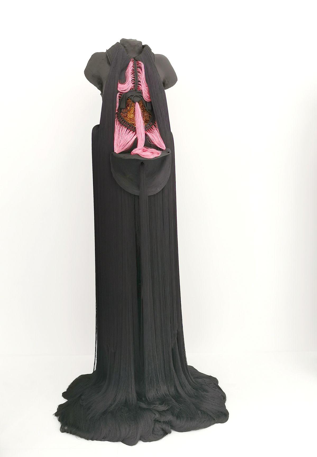 Jeanne Vicerial - Série Les Vénus ouvertes - Venerina numéro 2, 2020 - Des Vies - ¡ Viva Villa ! 2020 - Les vies minuscules à la Collection Lambert, Avignon