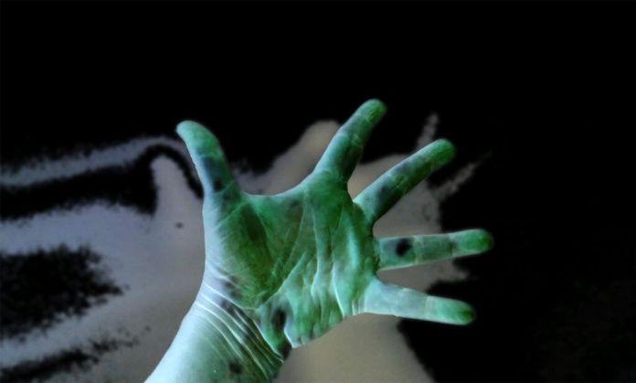 Lisi Prada & Jose Cruzio - [SELF]INSERTIONs -Hands dialogue, 2020 - Portugal Les Instants Vidéo 2020 - «Mort, la vie te guette !»