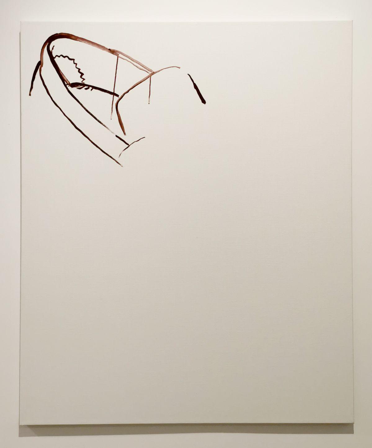 Michael Krebber - 1 Castel Street, 2001 - 00s - Collection Cranford - les années 2000 au MOCO Montpellier