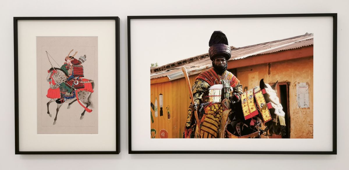 Native Maqari & Simon Rouby – Yasuke, le samouraï noir, 2020 - Des Vies - ¡ Viva Villa ! 2020 - Les vies minuscules à la Collection Lambert, Avignon