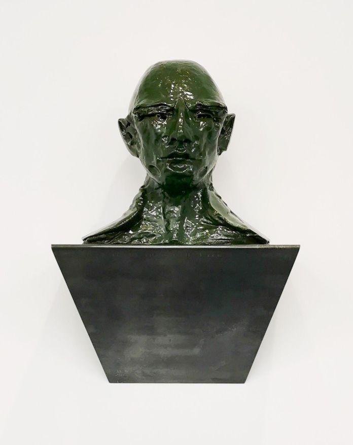 Thomas Schütte - Green Head, 2006 - 00s - Collection Cranford - les années 2000 au MOCO Montpellier