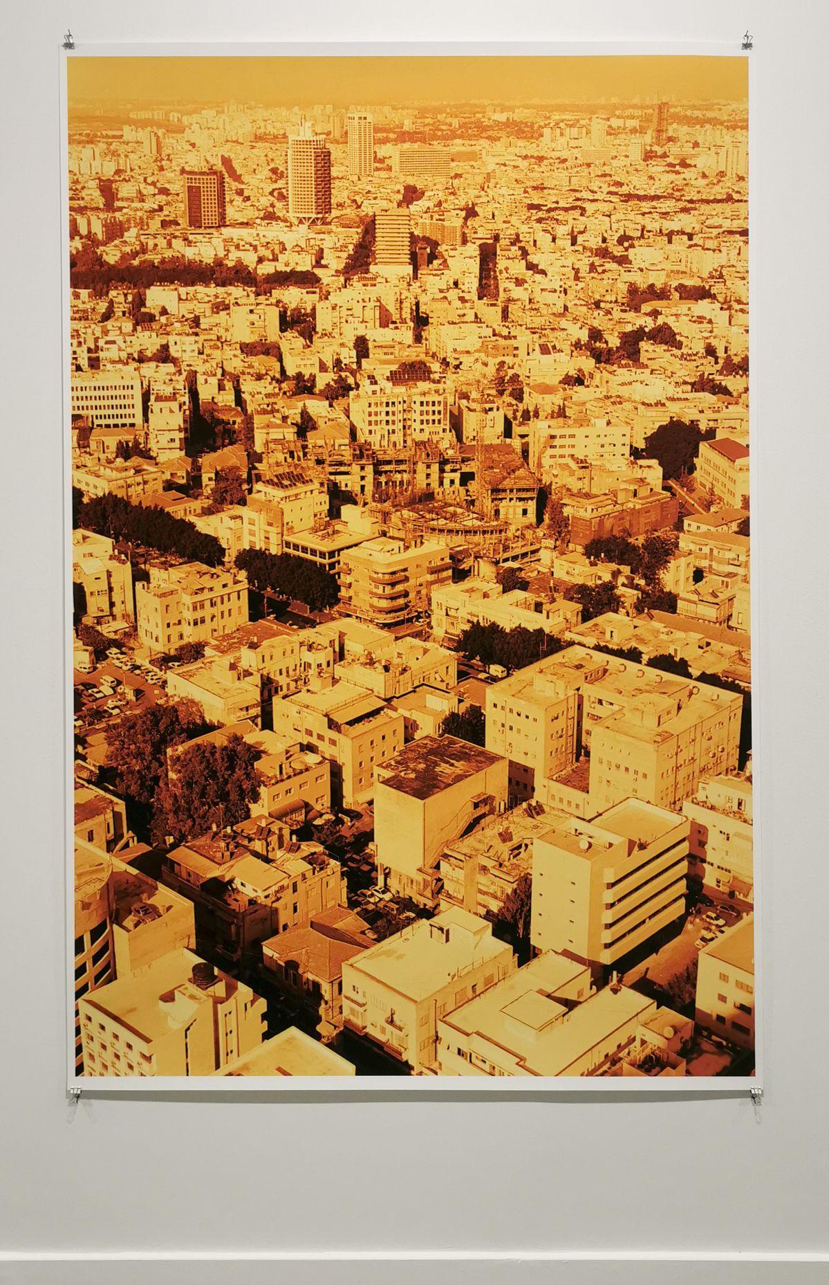 Wolfgang Tillmans - Aufsicht (yellow), 1999 - 00s - Collection Cranford - les années 2000 au MOCO Montpellier