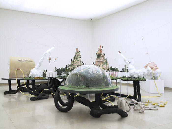 Gilles Barbier - Méga Maquette, 2006 - Carré d'Art, Musée d'art contemporain de Nîmes, 2006