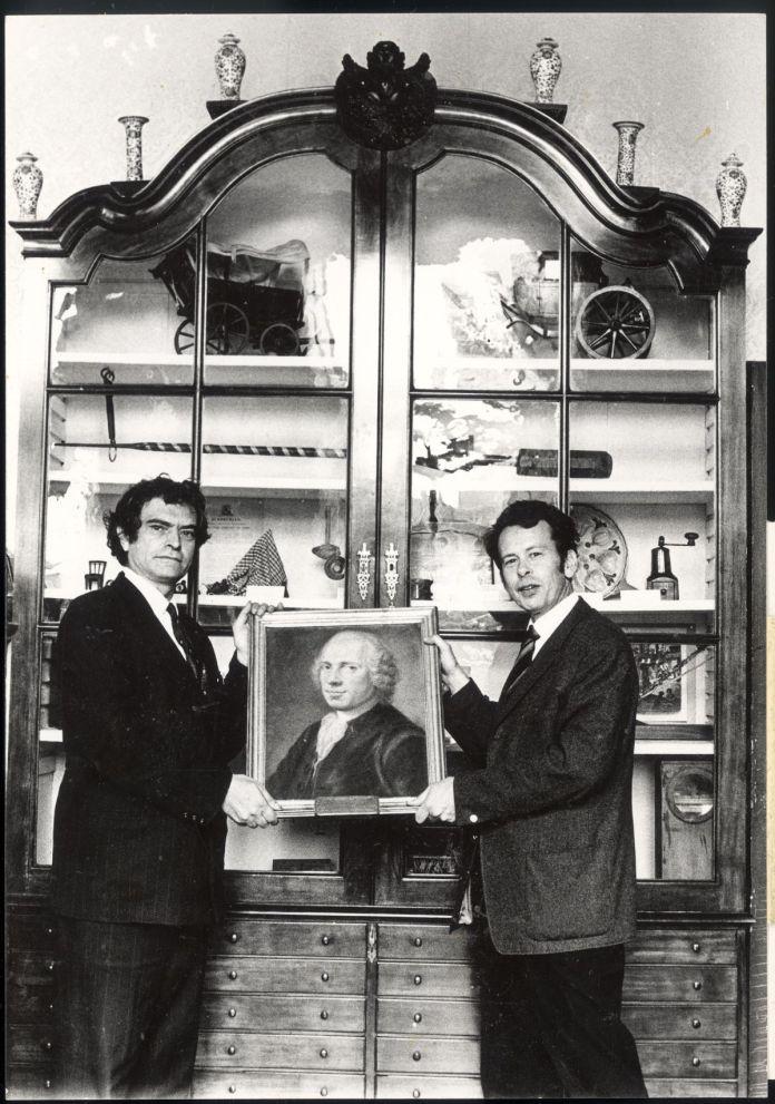 Marcel Broodthaers et Piet van Daalen, 1970 © Maria Gilissen Adagp, Paris, 2020