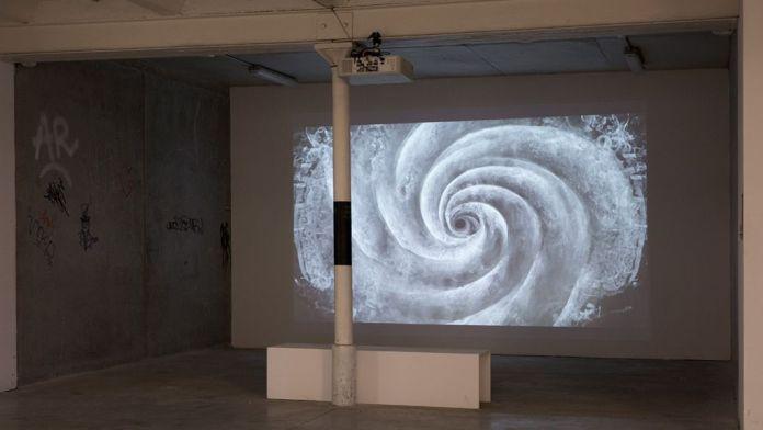 Boris Labbé - La Chute, 2018 Biennale Chroniques 2020 - Éternité part 2 - Friche la Belle de Mai © Gregoire Edouard
