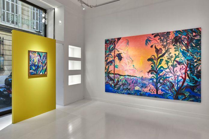 Florent Groc - «Pourvu que ça dure» vue de l'exposition à la galerie Double V - Marseille - ©Jean Christophe Lett