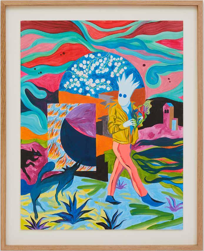 Florent Groc - Le porteur de feu, 2020