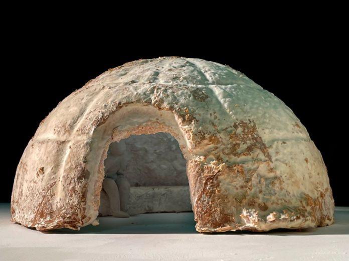 Côme Di Meglio - maquette 1/10 du MycoTemple en mycelium