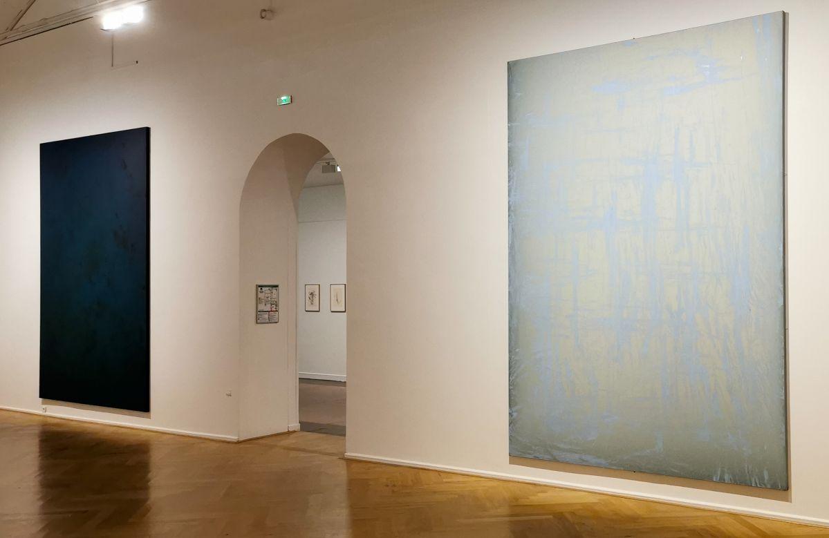 Gérard Traquandi, Peintures - «Ici, Là» au Musée Cantini - Marseille