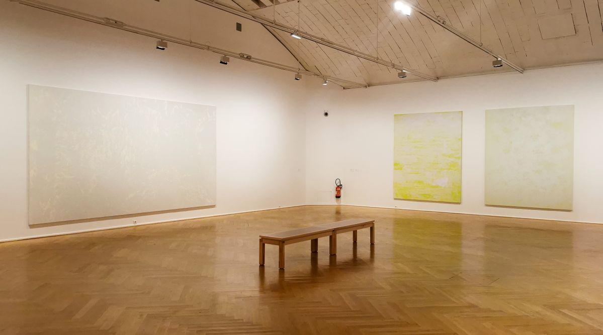 Gérard Traquandi, Peintures, 2020 - «Ici, Là» au Musée Cantini - Marseille