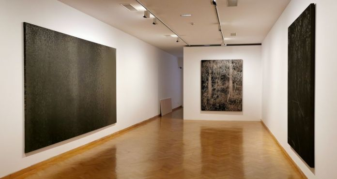 Gérard Traquandi, Peintures V - «Ici, Là» au Musée Cantini - Marseille