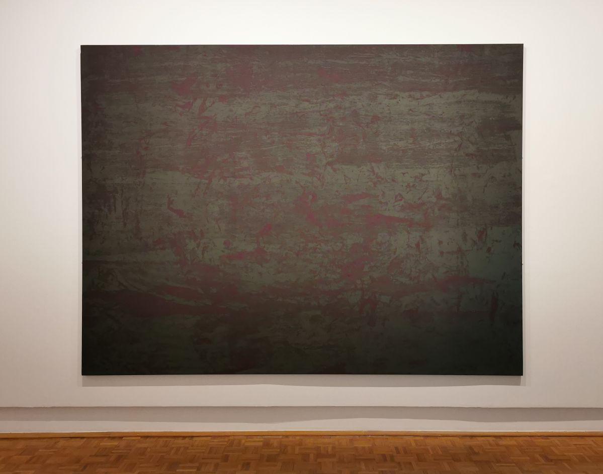 Gérard Traquandi, Sans titre, 2019 - Courtesy de l'artiste et de la galerie Laurent Godin - «Ici, Là» au Musée Cantini - Marseille