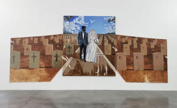 Mariam Abouzid Souali - Un mariage en automne, 2020 - Avenir commun- Les chemins des indésirables - «Distance ardente» au MRAC à Sérignan