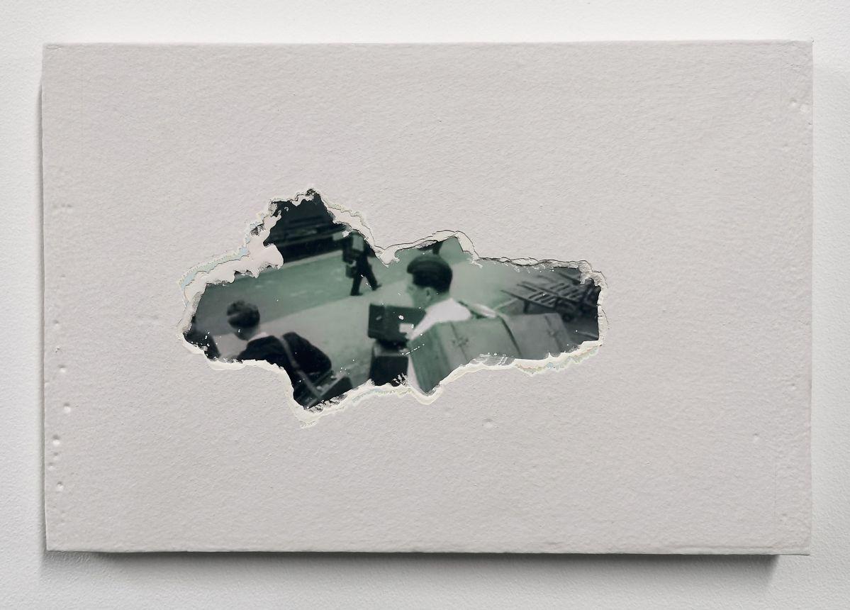 Mustapha Akrim - Fragment (I), 2020 - Corps invisibles - «Distance ardente» au MRAC à Sérignan