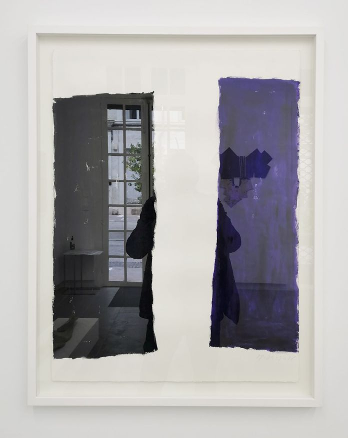 Didier Demozay - Sans titre, 2018 - Telle est l'étoffe dont les rêves sont faits à la Galerie ALMA