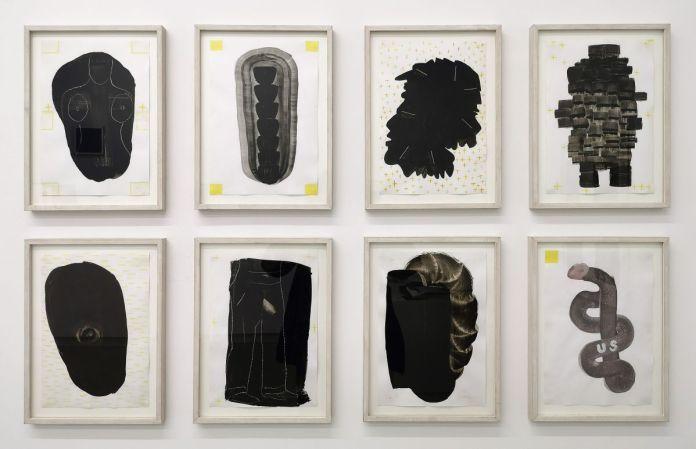 François Bouillon - Série Noire, 2005 - Telle est l'étoffe dont les rêves sont faits à la Galerie ALMA