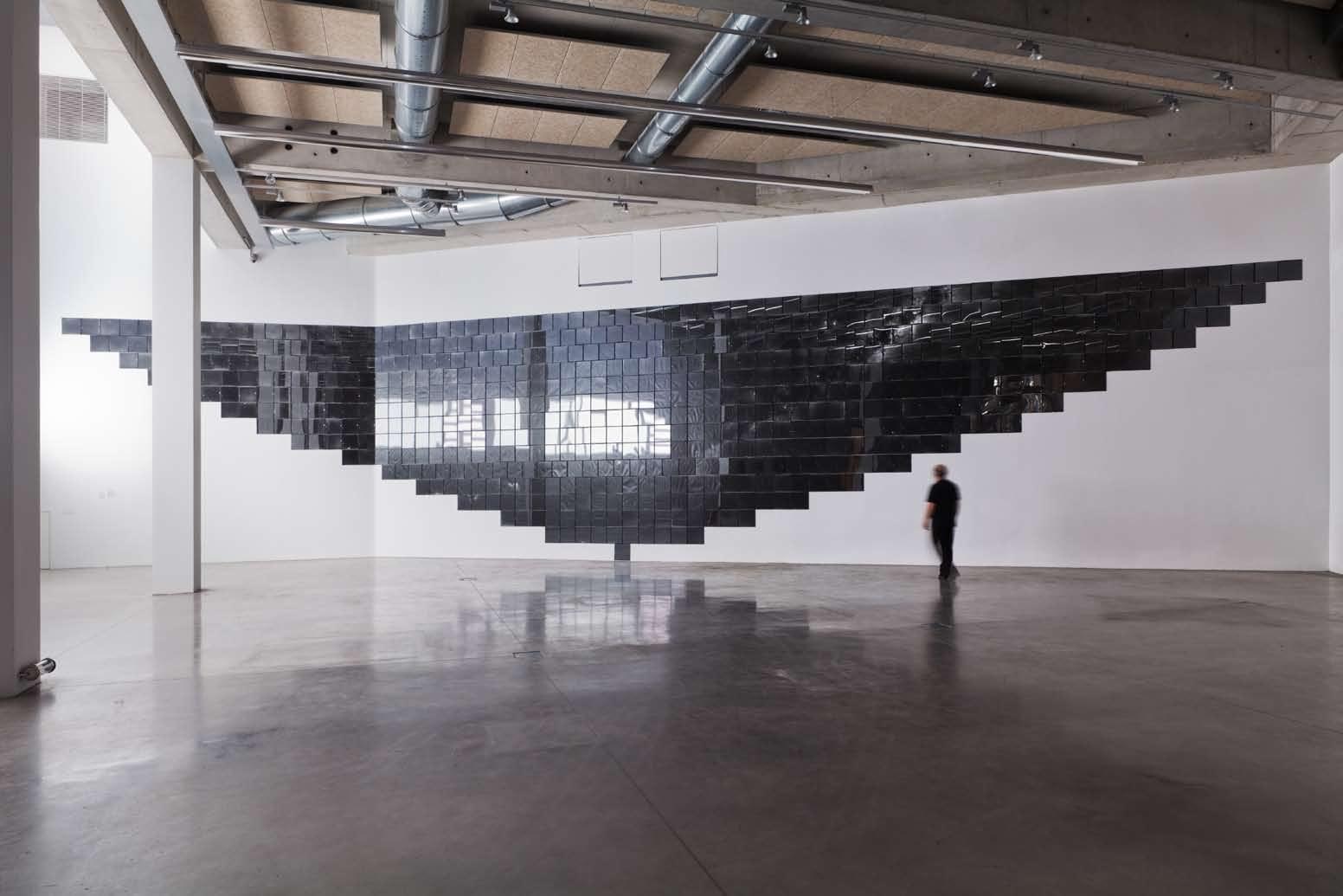 Le Grand Miroir Noir, FRAC PACA, Marseille, 2013