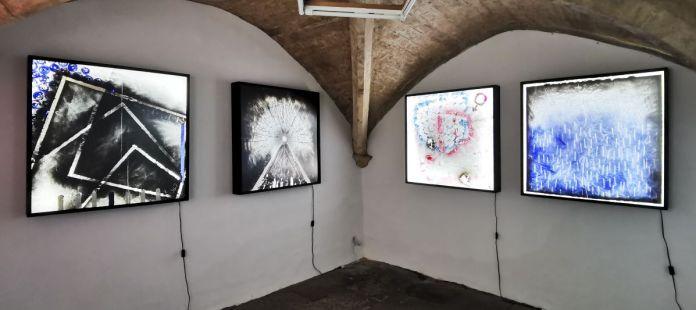 Patrice Barthès - Passé composé ; Présent ; Conditionnel et Infinitif « Times Série », 2021- Traces à la N5 Galerie - Montpellier