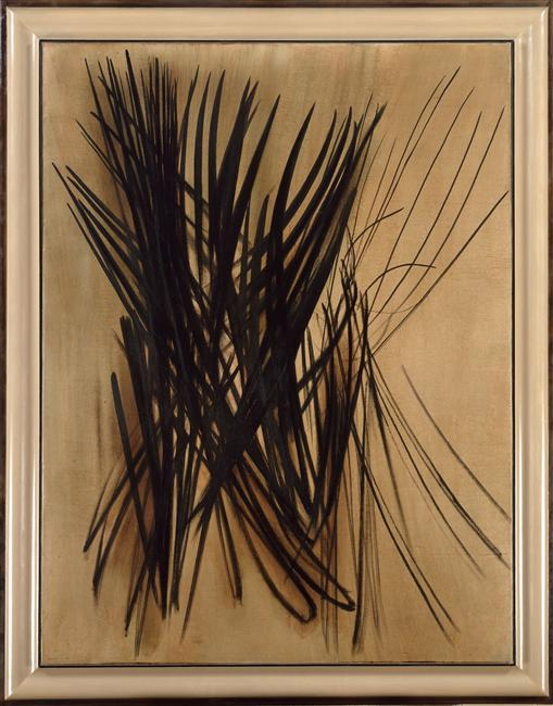 Hans Hartung, Composition T.54.15, 1954