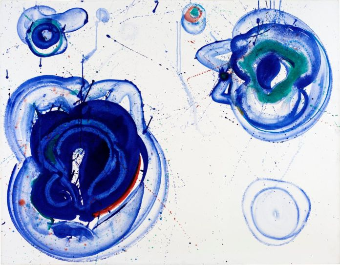 Sam Francis, Blue Balls, vers 1961-1962