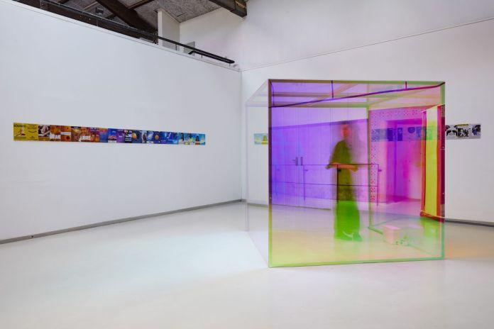 Hélène Bellenger - Sans titre (gamme), 2021 et Sans titre (Lo-fi), 2021 ©jcLett