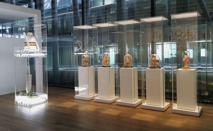 Jeff Koons au Mucem - Œuvres de la Collection Pinault - Salle 1 - vue de l'exposition