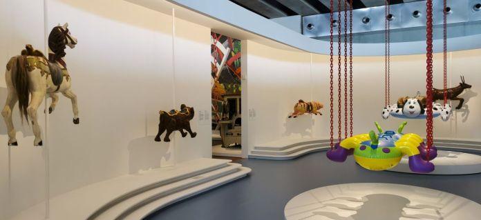 Jeff Koons au Mucem - Œuvres de la Collection Pinault - Salle 11 - vue de l'exposition