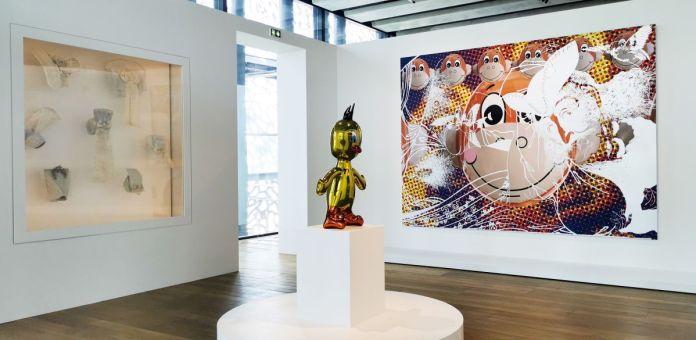 Jeff Koons au Mucem - Œuvres de la Collection Pinault - Salle 12 - vue de l'exposition