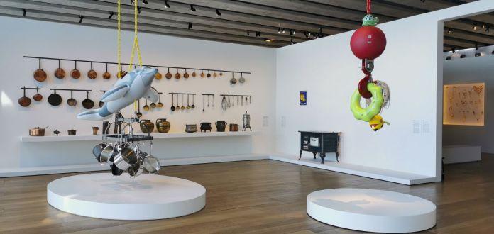 Jeff Koons au Mucem - Œuvres de la Collection Pinault - Salle 8 - vue de l'exposition