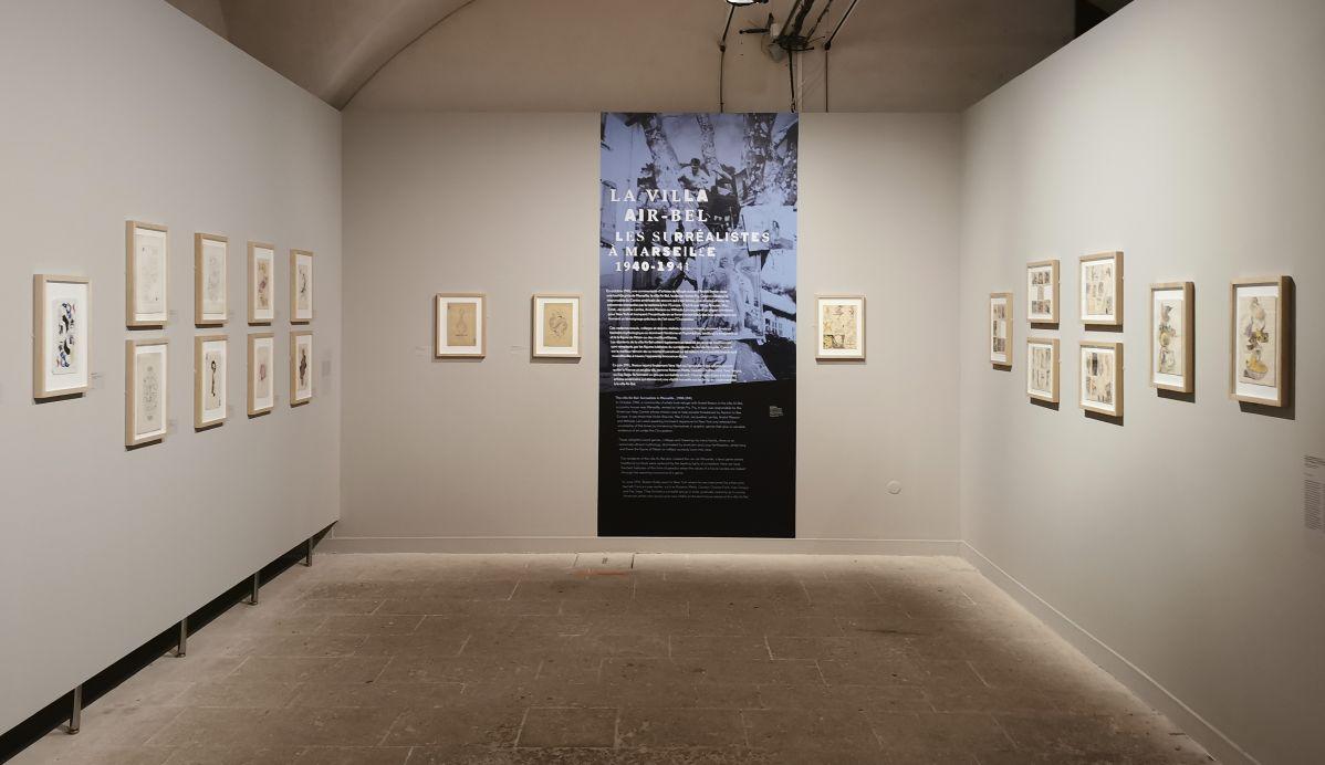 La Villa Air-Bel - les surréalistes à Marseille (1940-1941) - Le surréalisme dans l'art américain à la Vieille Charité