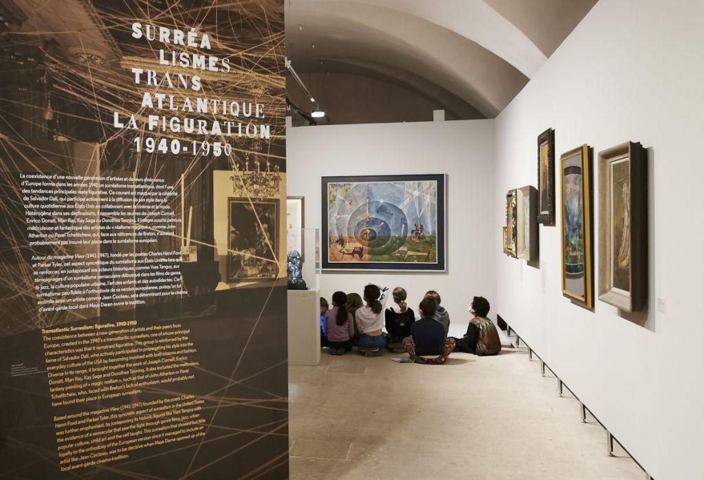 Surréalisme transatlantique - la figuration (1940-1950) - Le surréalisme dans l'art américain à la Vieille Charité