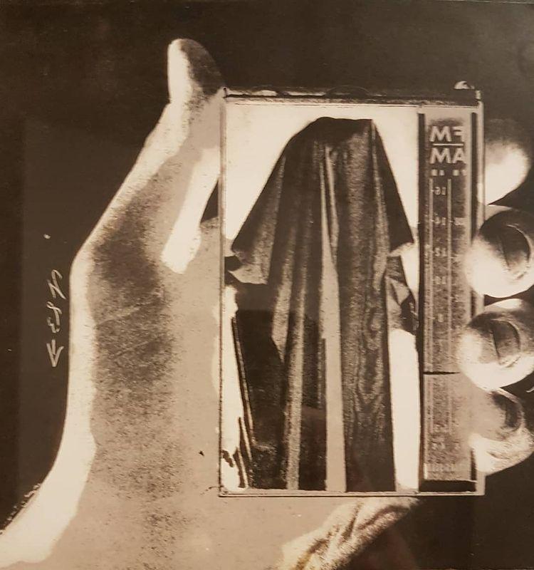 Wallace Berman, Untitled [Sans titre], 1964, collage Verifax, 121,6 x 115,6 cm - Photo Eric de Chassey