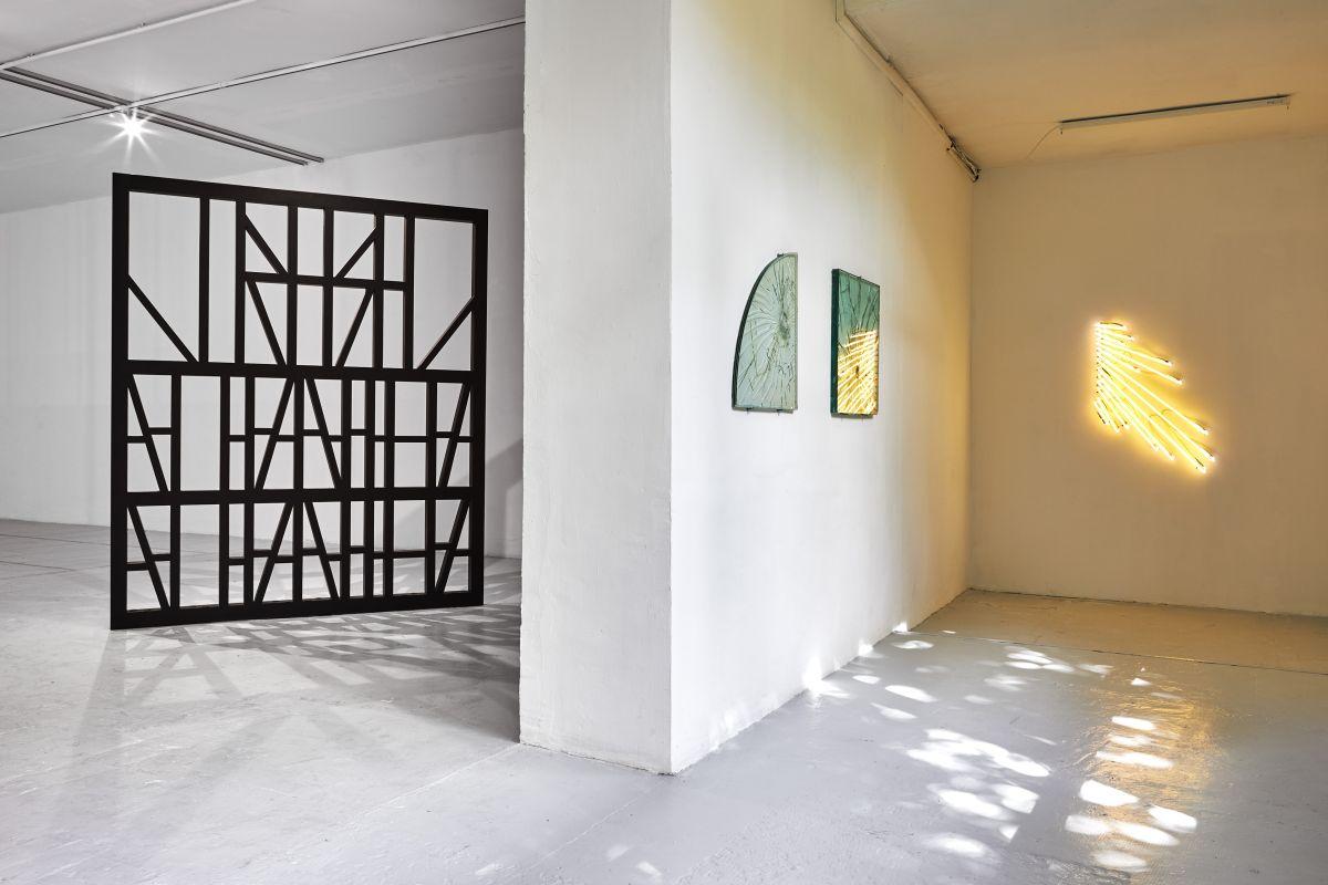 Gilles Pourtier - Rodéo Sauvage au Château de Servières - vue de l'exposition®Jean-christophe Lett