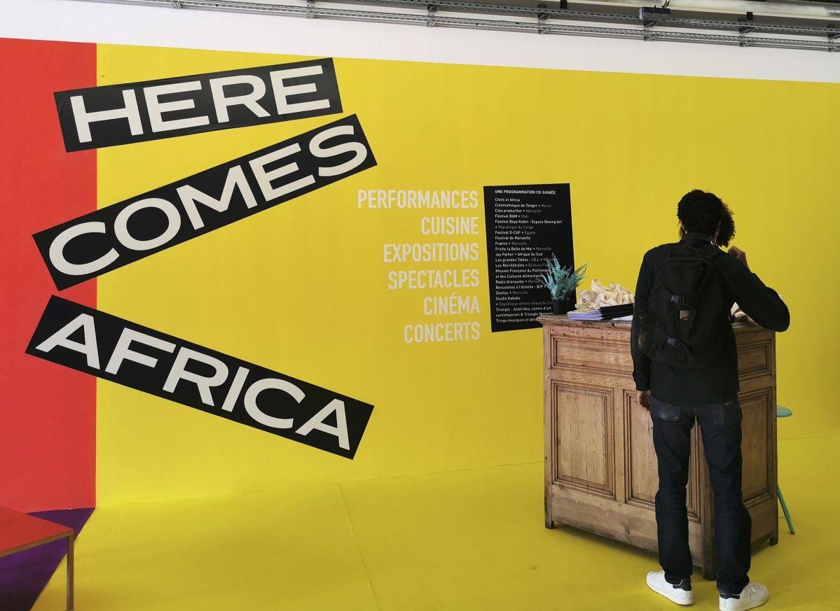 QG Here Comes Africa à la Friche la Belle de Mai
