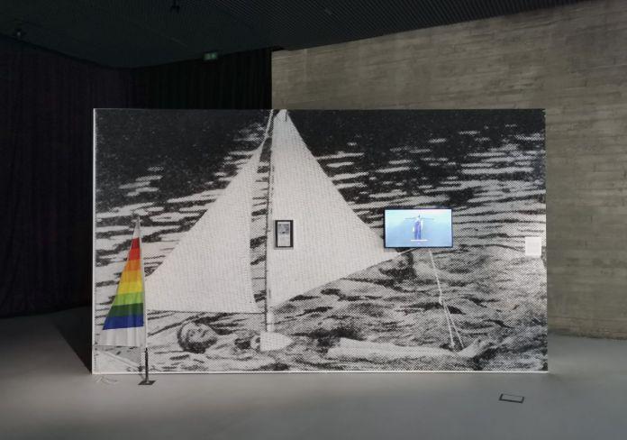 Enrique Ramírez - El intento de un mar, 2017 - Vue de l'exposition Jardins migratoires aux Rencontres Arles 2021