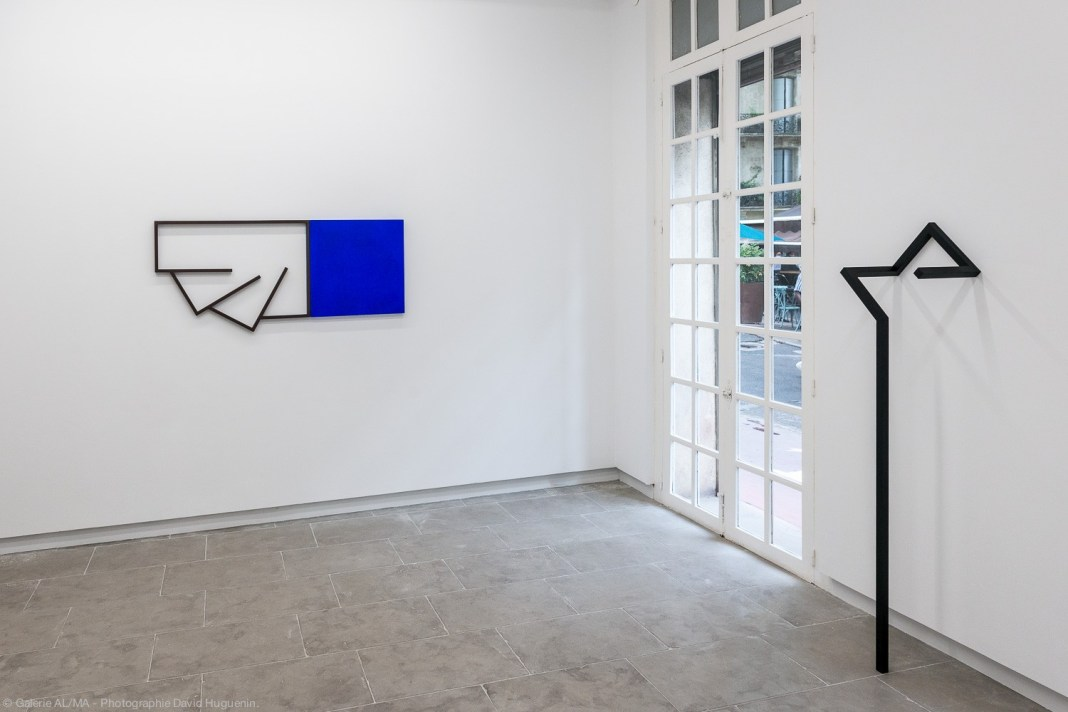 Mehdi Moutashar - Racines Carrées à la Galerie ALMA - Montpellier - Crédit photo David Huguenin