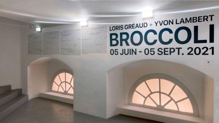 Brocoli - Loris Gréaud + Yvon Lambert - Vue de l'exposition - © Loris Gréaud, Gréaudstudio Photo Realism Noirr
