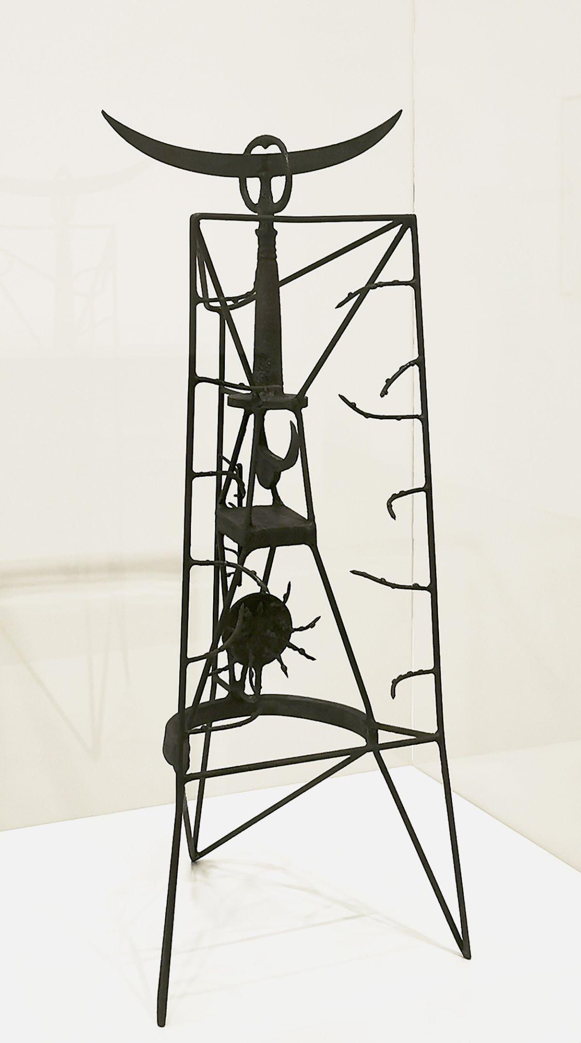 Shinkichi Tajiri, Prisoner, 1950-1951 - «United States of Abstraction» au Musée Fabre